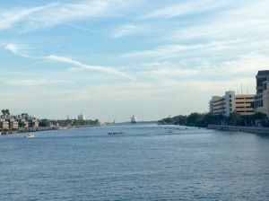 As I was winding down my run, I caught glimpse of a cruise ship setting sail and some rowers out practicing. Too cool!