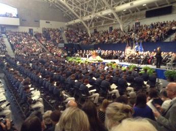 Bubba's graduation- Citadel c/o 2014