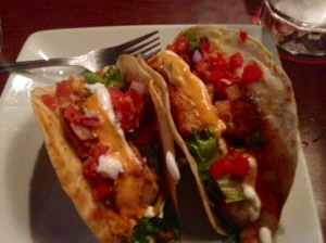 Spicy Fish Tacos courtesy of Ruby Tuesday's