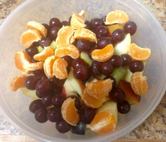 Fruit bowl for lunch