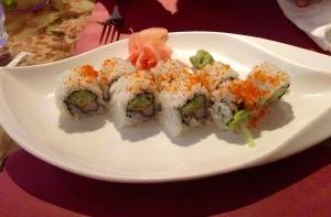 Crazy Cafe's California Roll