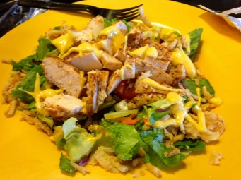 Yum! I love the salads at Zaxby's!