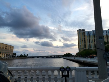 View from my parking spot downtown Tampa. ;)