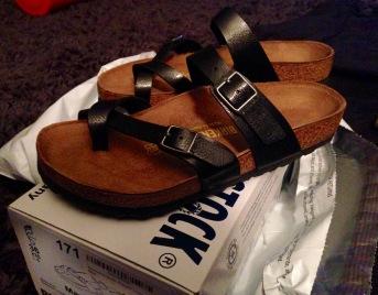 New shoes! Birkenstock Mayari's