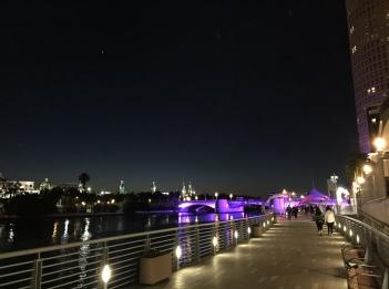 Riverwalk and University of Tampa.