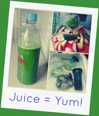 Yummy! And yes I repurposed my Evian bottle- they are the PERFECT size!