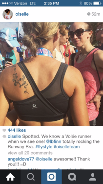 Is this not the cutest sports bra you ever did see?