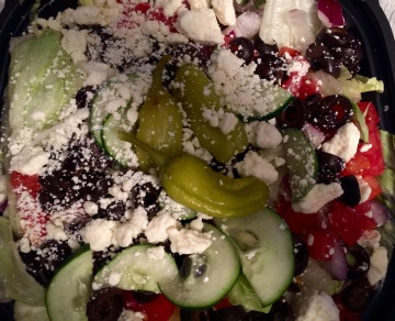Greek Salad from Hungry Howie's