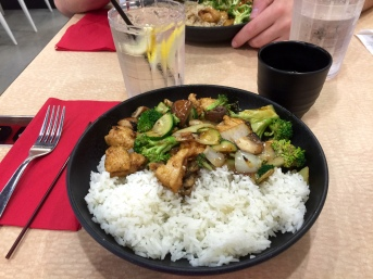 Wok Chi dinner