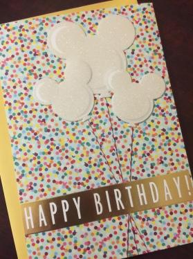 It's a Mickey birthday!