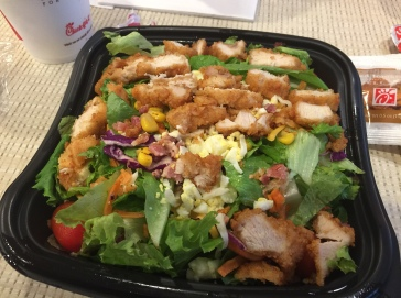 Cobb salad from Chick-Fil-A