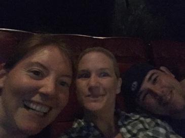 Movie time selfie