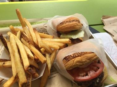 BurgerFi. Yum!