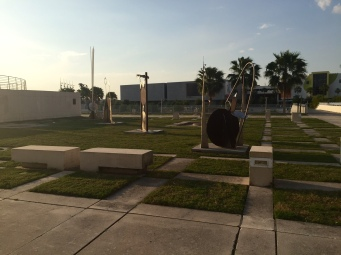 Sculptures at Curtis Hixon