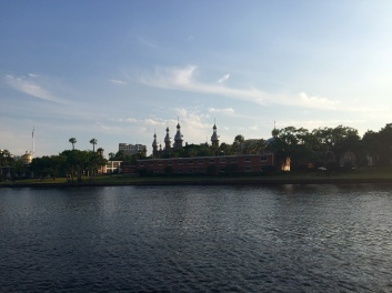 University of Tampa from the Riverwalk