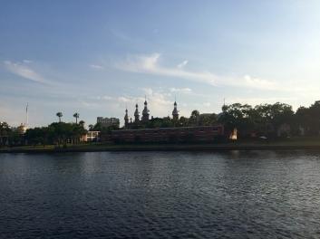University of Tampa from the Riverwalk