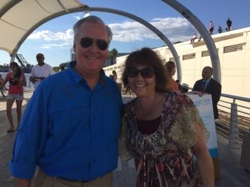 Mom with Mayor Bob Buckhorn