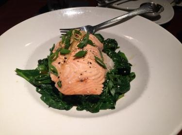 Shang Hai salmon @ Mitchell's