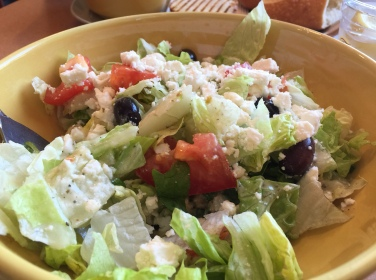 Greek salad @ Panera